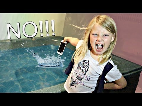 Video My Mom's iPhone in a Hot Tub PRANK!! download in MP3, 3GP, MP4, WEBM, AVI, FLV January 2017