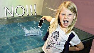 My Mom's iPhone PRANK!!