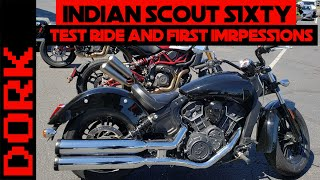 5. Indian Scout Review: 2019 Indian Scout Sixty Test Ride and First Impressions