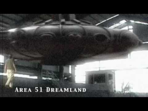 UFO Sighting Inside Area 51 declassified 2011