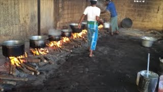 Indian Street Food - Mutton and Chicken Biryani Prepared for 500 People - Food in India