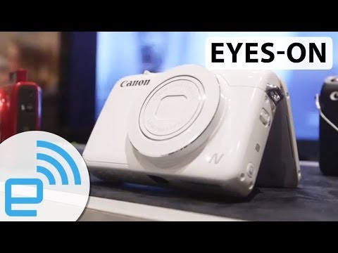 Canon PowerShot N100 at CES 2014 | Engadget