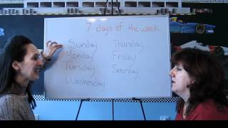 Days of the Week, Lessons for Beginners 41