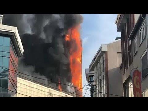 Κωνσταντινούπολη: Φωτιά σε νοσοκομείο