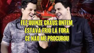 João Neto & Frederico   Chorou Na Escadaria
