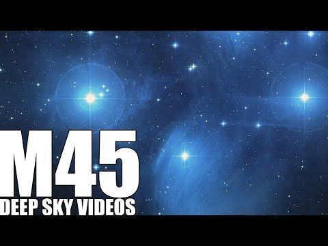 Die sieben Schwestern oder Pleiades (M45) - Deep Sky Videos