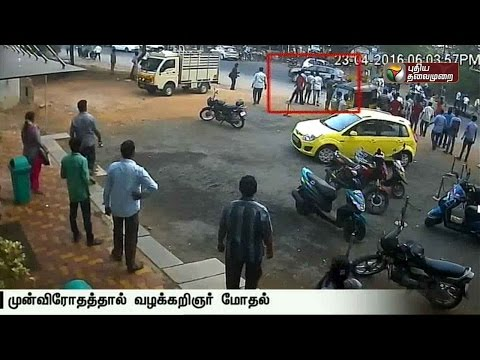 Five-injured-as-lawyer-drives-inside-a-hotel-in-Madurai
