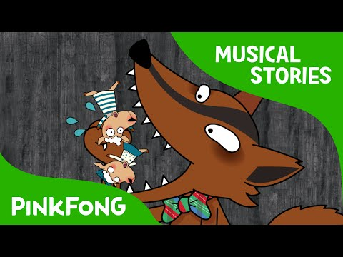 The Wolf and the Seven Sheep   Fairy Tales   Musical   PINKFONG Story Time for Children