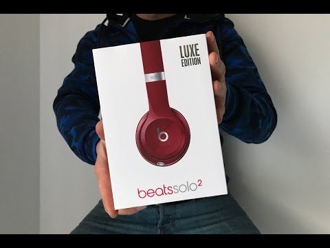 BEATS BY DR.DRE SOLO 2 LUXE EDITION UNBOXING! VLOG #010