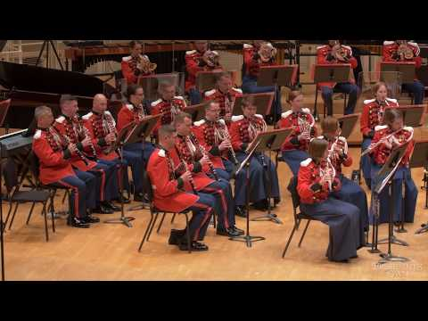 "GRAINGER English Morris Dance, ""Shepherd's Hey"" - ""The President's Own"" U.S. Marine Band - Tour 2018"