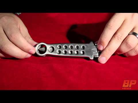 Silver FlapJack Double Edge Balisong Butterfly Knife - Polish Plain
