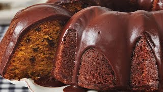 Pumpkin Cake Recipe Demonstration - Joyofbaking.com