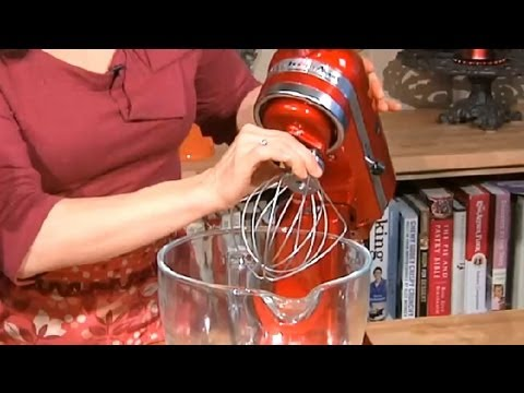 How to Use KitchenAid Mixers : Sweet Recipes