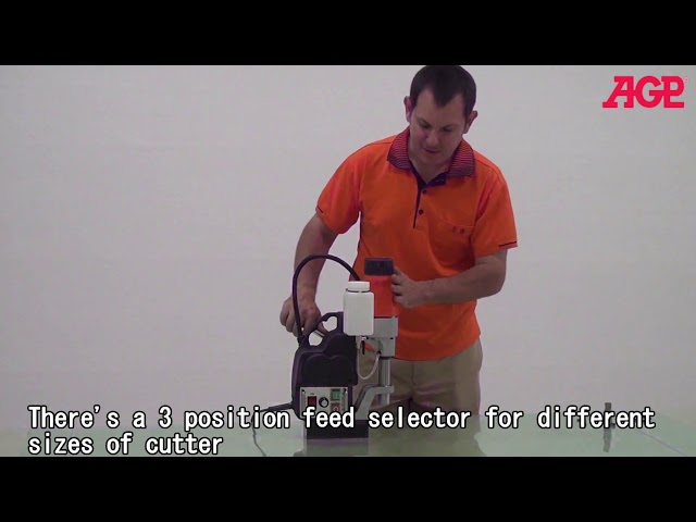 AGP MD300N Semi Auto Feed Magnetic Core Drill– Introduction & Operation