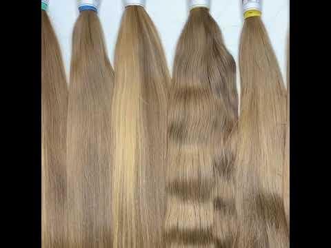 Детские натуральные срезы волос