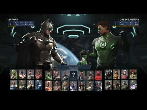 Injustice 2 - Single fight gameplay - Batman