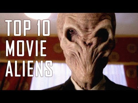 My TOP 10 Terrifying ALIENS (From Movies)