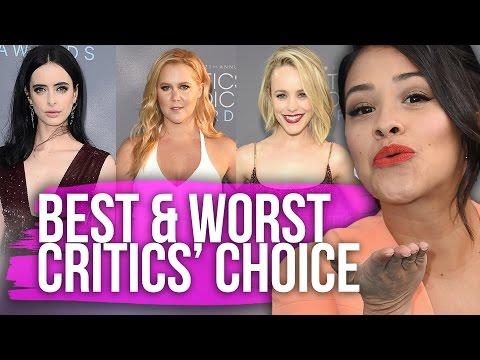 Best & Worst Dressed Critics' Choice Awards 2016 (Dirty Laundry)