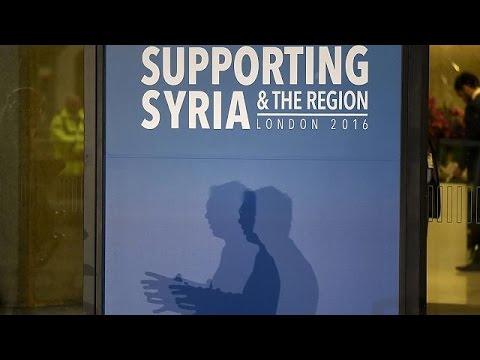Στο Λονδίνο ηγέτες χωρών για τη Διάσκεψη Δωρητών για τη Συρία