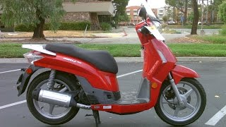 6. Contra Costa Powersports-Used 2008 KYMCO People S 200 motorscooter