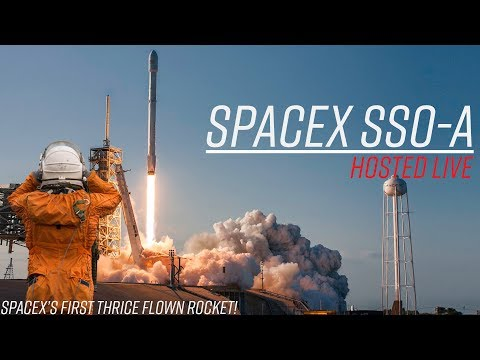 Watch SpaceX launch a Falcon 9 for the third time!