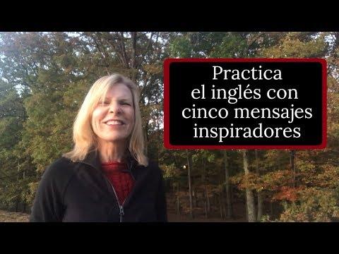 Frases cortas - Cinco Mensajes de Inspiración en Inglés más Ejercicios