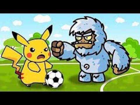 Pokemon vs Monsters | Kids Club Soccer Cup