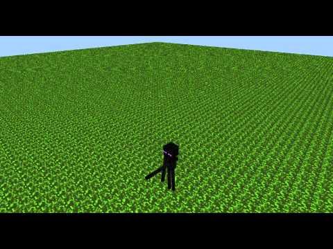 эндер майнкрафт (minecraf) анимацыя