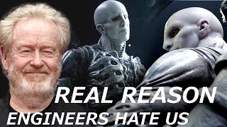 Video Ridley Scott Tells the REAL REASON Why Engineers Want to Kill Humans and Destroy Earth MP3, 3GP, MP4, WEBM, AVI, FLV Agustus 2018