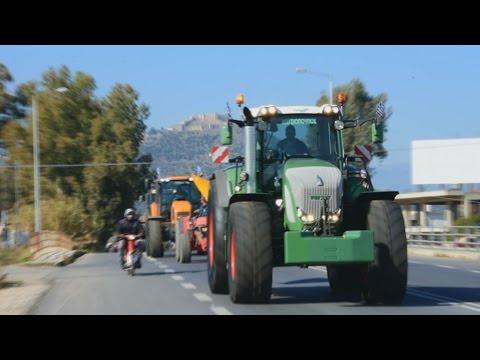 Κινητοποιήσεις αγροτών σε Αργολίδα και Ναύπλιο