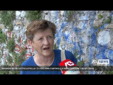 DEGRADO IN VIA SOTTOCASTELLO: 'CI VOGLIONO CONTROLLI E MANUTENZIONE' | 01/07/2020