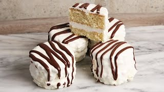 Homemade Zebra Cakes   Episode 1155 by Laura in the Kitchen