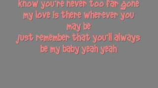 Sara Evans You'll Always Be My Baby Lyrics