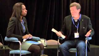 John Tory, Chair, and Mitzie Hunter, CEO of CivicAction at ELNstudio 2012