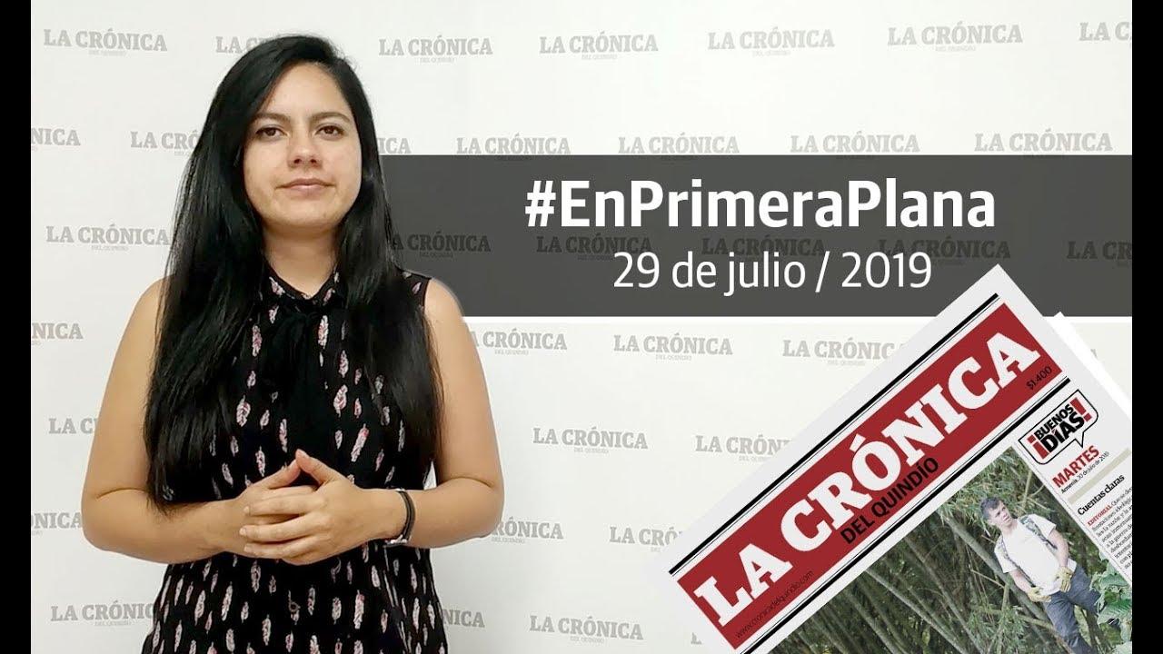 En Primera Plana: lo que será noticia este martes 30 de julio