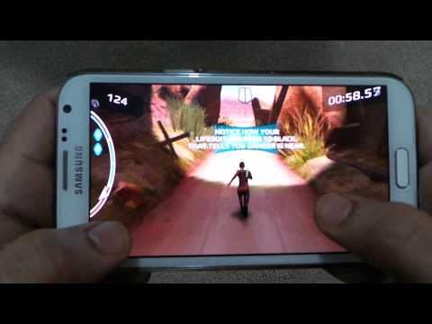 SAMSUNG GALAXY NOTE 2 AFTER EARTH GAMEPLAY