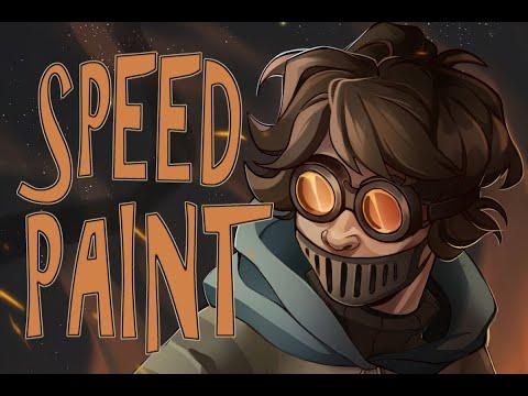 TICCI TOBY | Creepypasta Speedpaint | Through The Flames