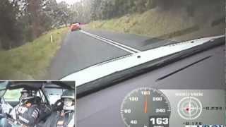 Targa Tasmania 2012, Evo X Vs R35 Nissan GTR