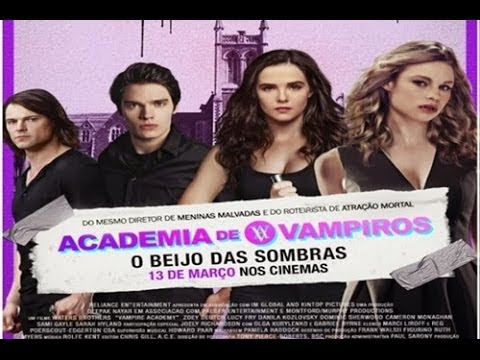 Crítica de Cinema - Academia de Vampiros: O Beijo das Sombras