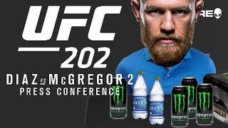 UFC 202 PRESSER INSANITY!!!