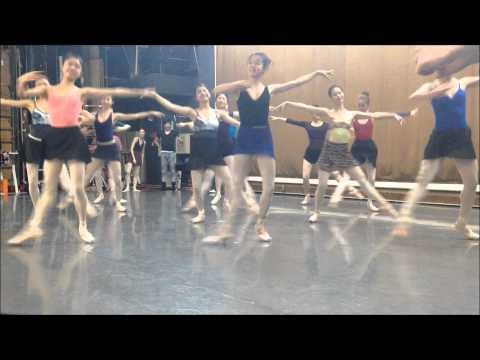 東京シティ・バレエ団「くるみ割り人形」リハーサル映像