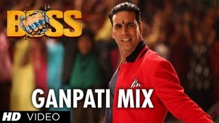 Boss Ganpati Mix - Full Song - Boss
