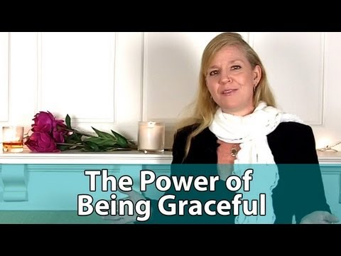 graceful - Join our Free 13 Day Program Here - http://www.livesofawoman.com/start-challenge/ Do you believe being graceful and feminine is an important part of being a ...