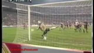 Rivaldos Hattrick gegen den AC Milan