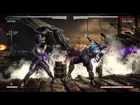 Mkx KITANA MournfuL Combo (видео)