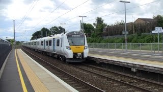 Flitwick United Kingdom  city pictures gallery : Brand new Class 700 103 passing Flitwick station 27/06/2016.