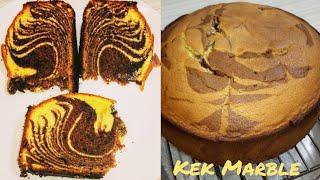 MARBLE KEK GEBU HARI RAYA | MARBLE CAKE SIMPLE BY M.A.K #135 - MASAK APA KITA M_A_K