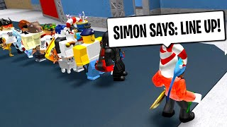 ROBLOX MURDER MYSTERY 2 SIMON SAYS GUESS THE MURDERER