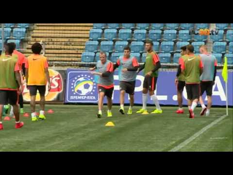Шахтер провел тренировку перед матчем за Суперкубок (видео)