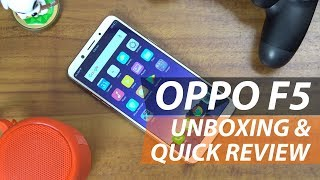 Video OPPO F5 Unboxing and Quick Review: A Smarter Selfie Expert MP3, 3GP, MP4, WEBM, AVI, FLV November 2017